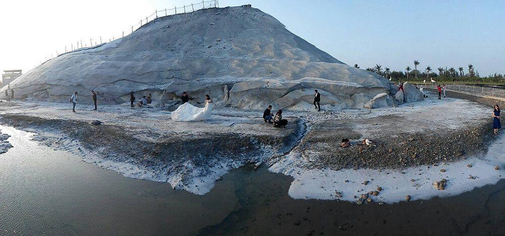 七股鹽山-南部-山湖花海推薦