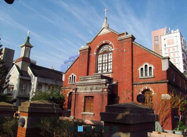 柳原教會|中部建築、室內攝影景點推薦