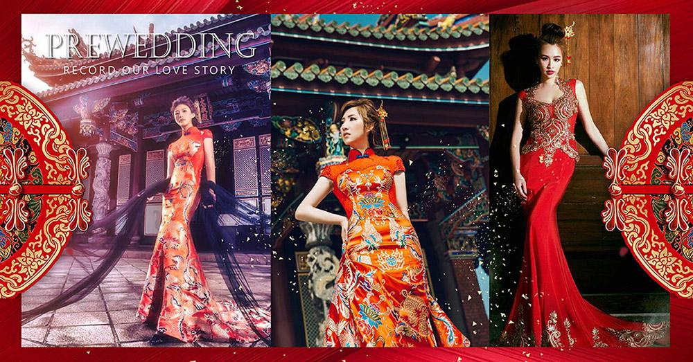 台北曼哈頓婚紗|中式婚紗