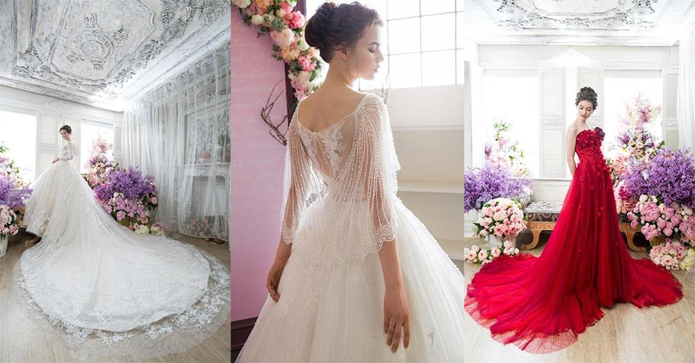 高雄法國台北| 女神系婚紗