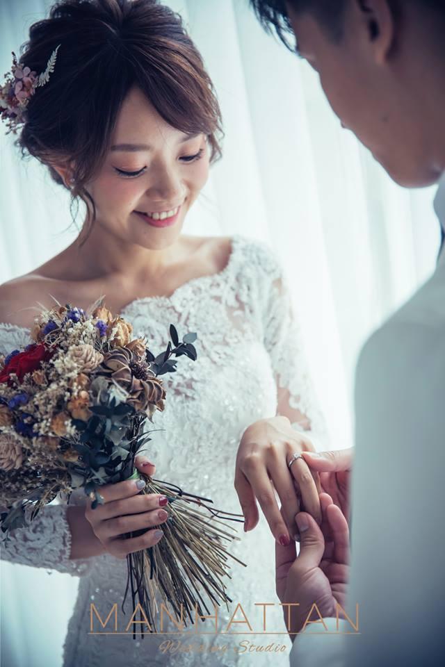 法式婚紗照