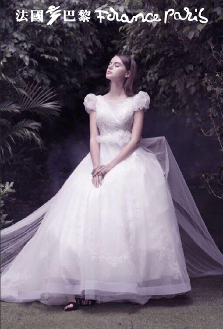 台北法國巴黎 婚紗禮服