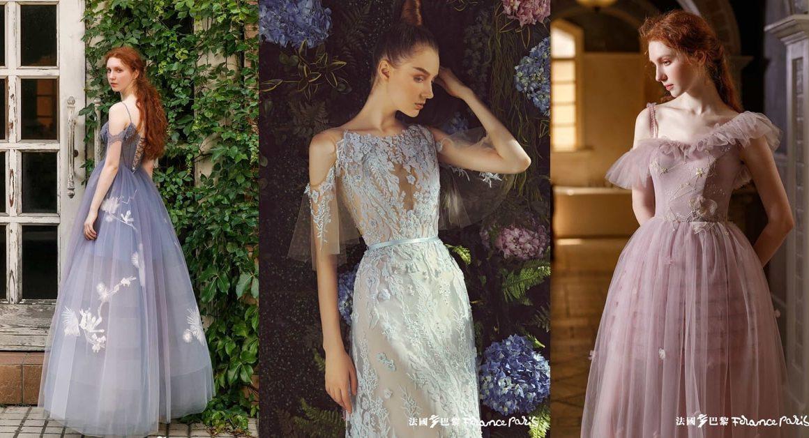 新加坡法國巴黎婚紗 婚紗禮服