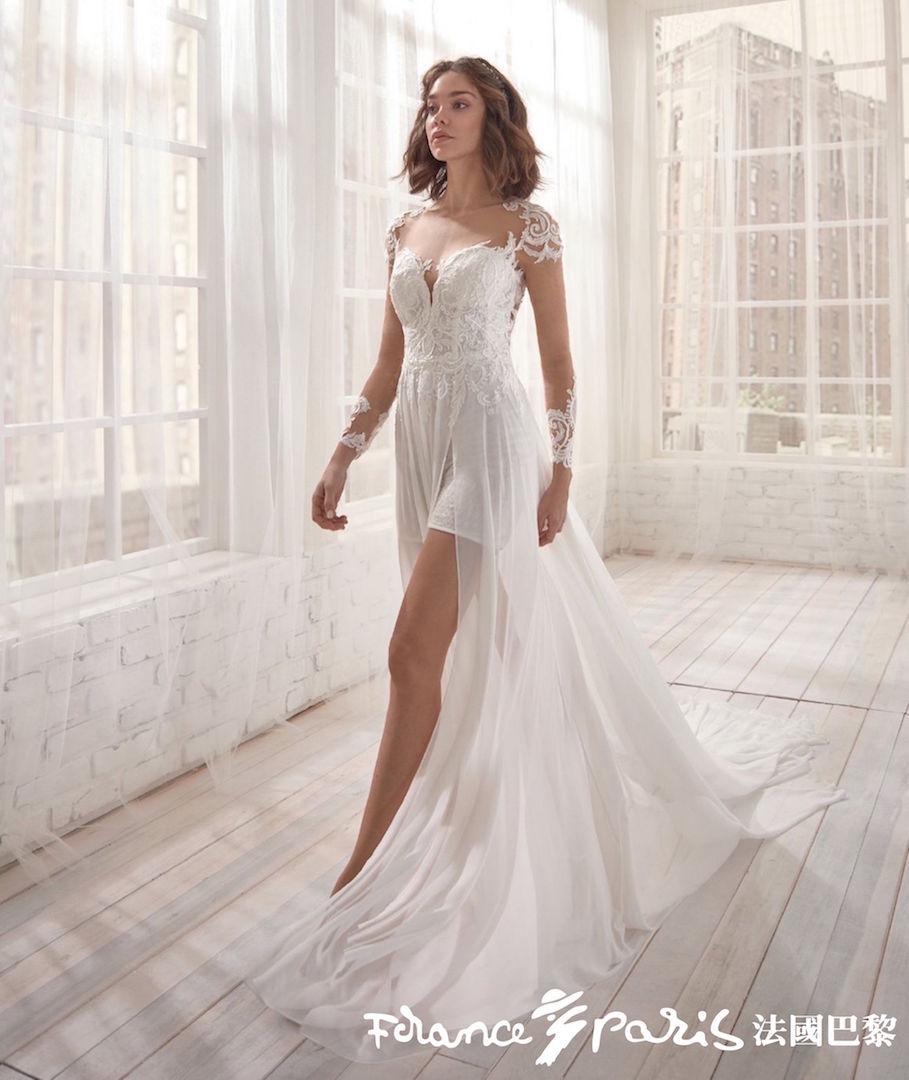 台北法國巴黎婚紗 婚紗禮服