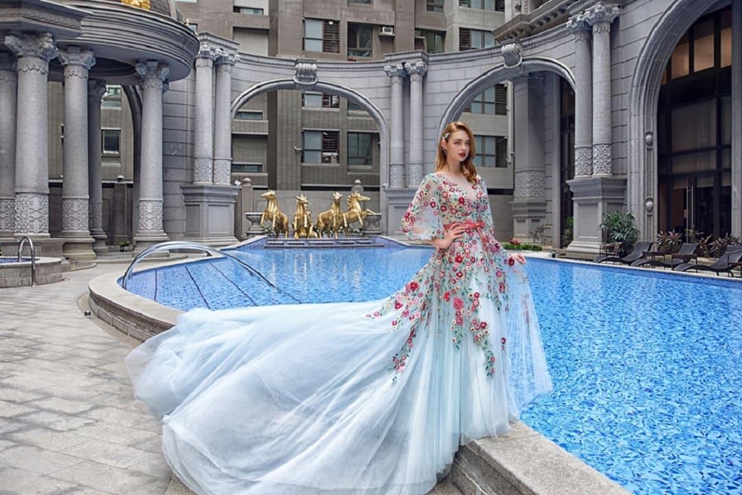 高雄法國台北婚紗 婚紗禮服 13