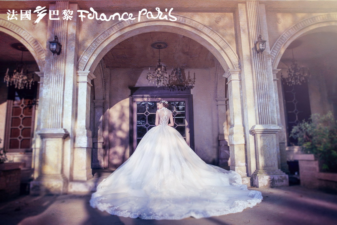 新加坡法國巴黎婚紗 婚紗照
