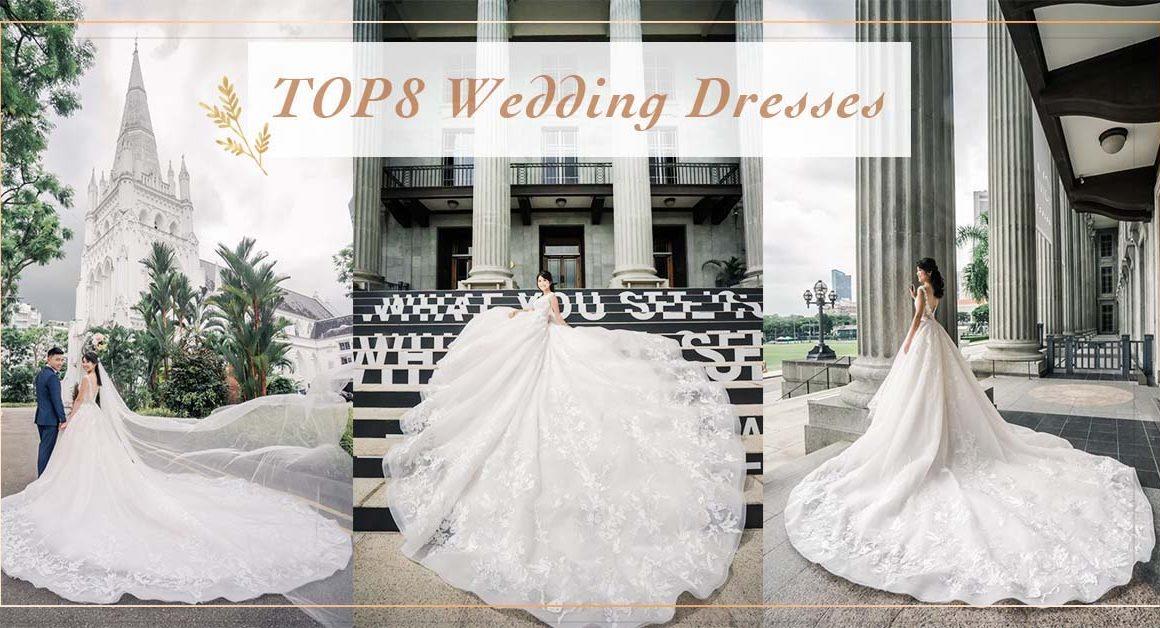 新加坡蔚藍海岸 婚紗禮服