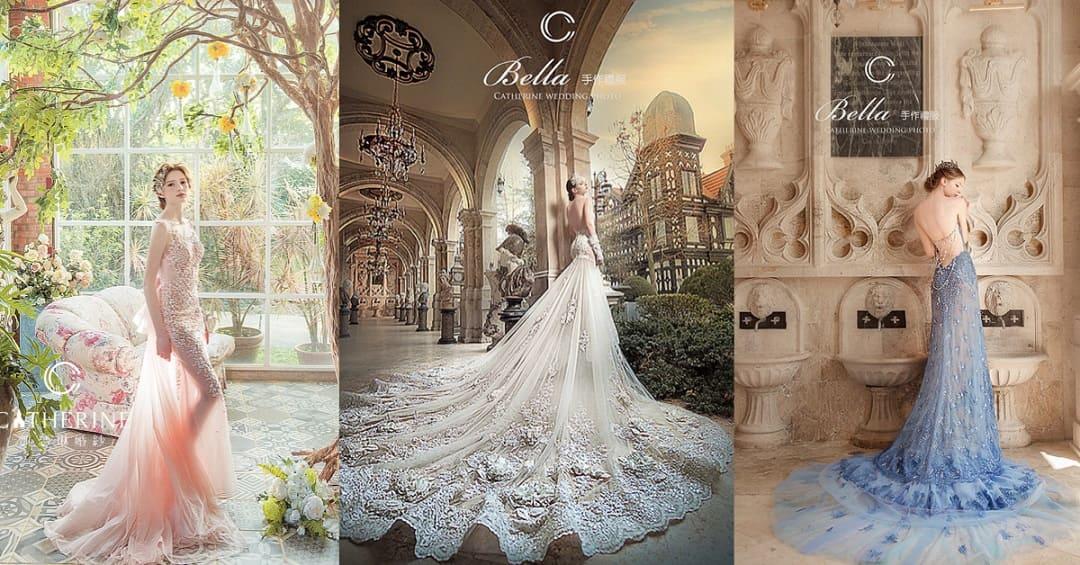 凱瑟琳 婚紗禮服 10