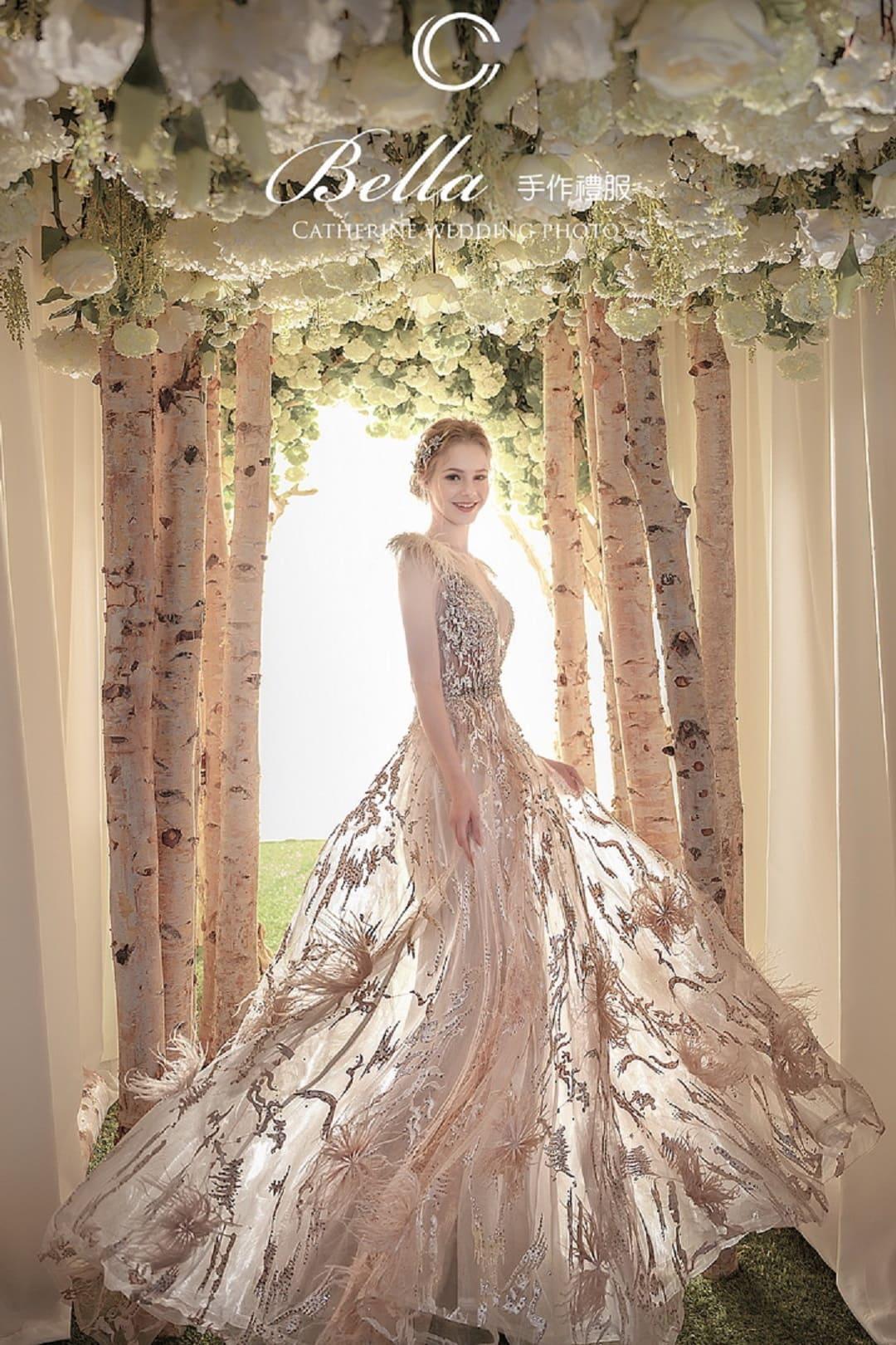 凱瑟琳 婚紗禮服 11