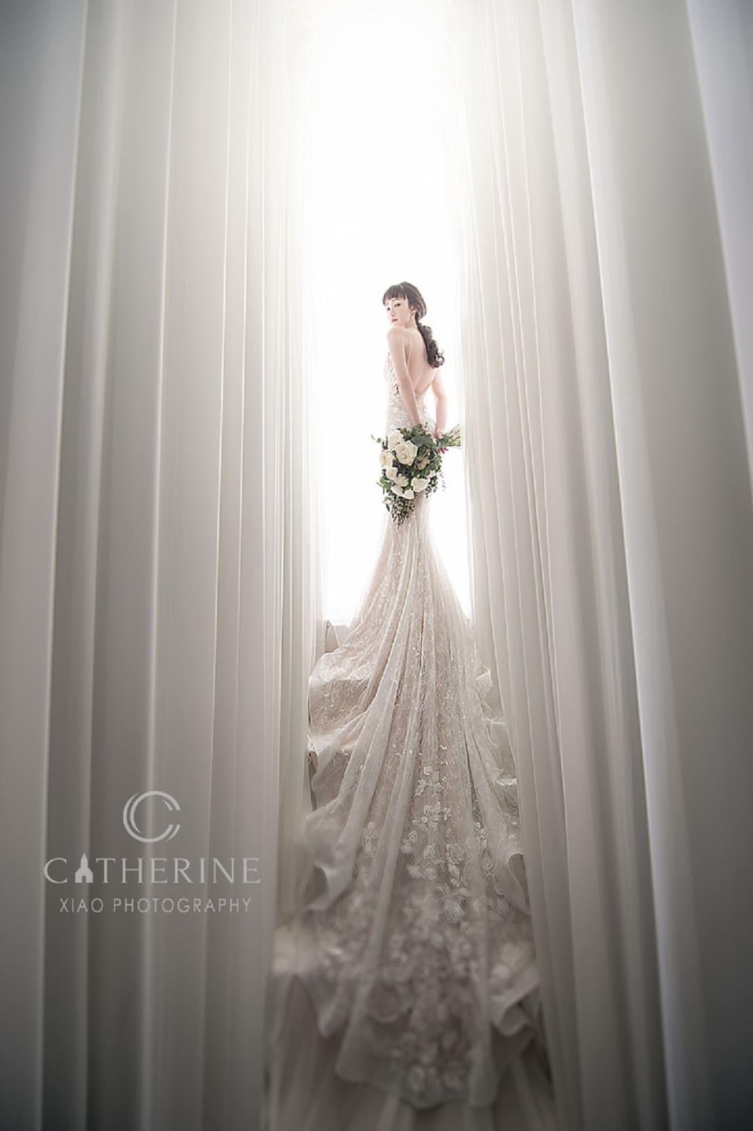 凱瑟琳 婚紗禮服19