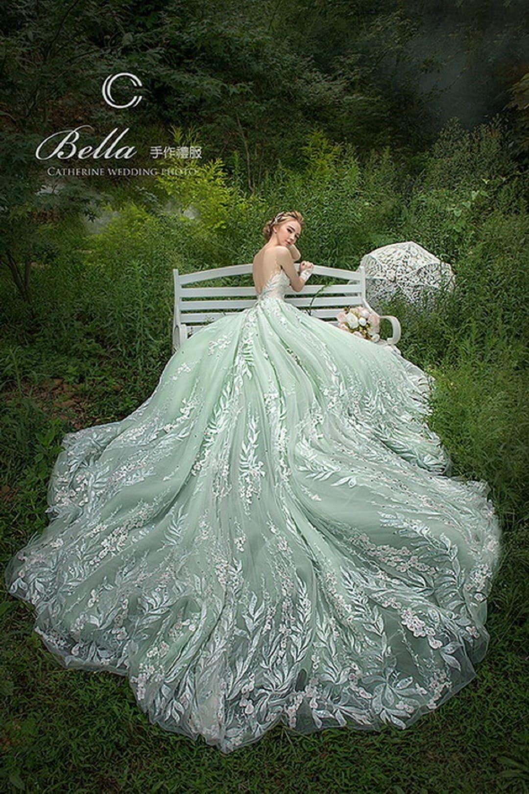 凱瑟琳 婚紗禮服 21