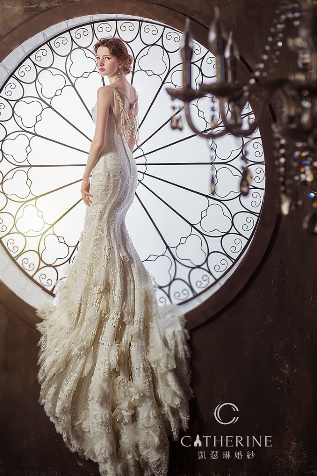 凱瑟琳 婚紗禮服 4