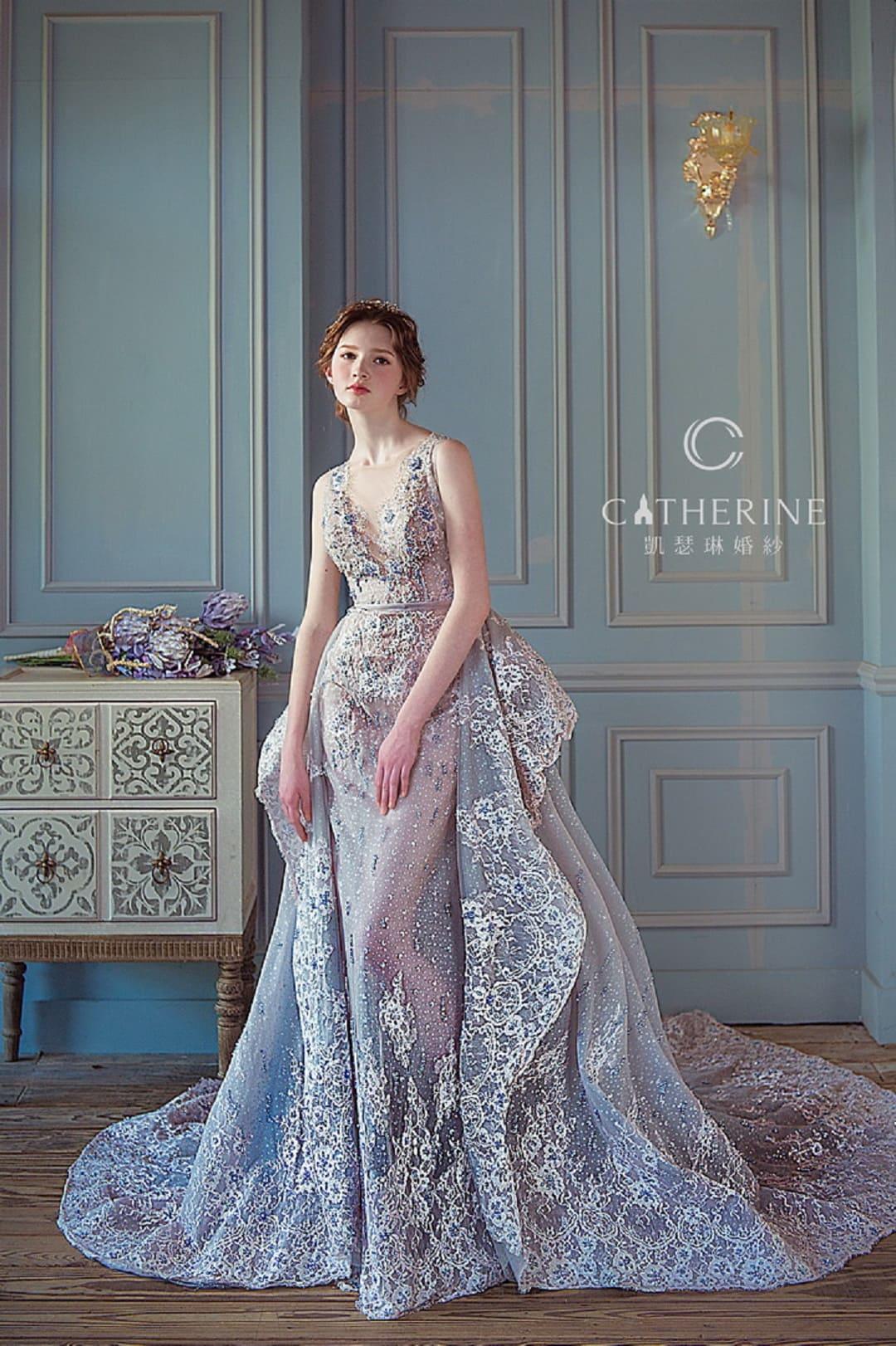 凱瑟琳 婚紗禮服 5