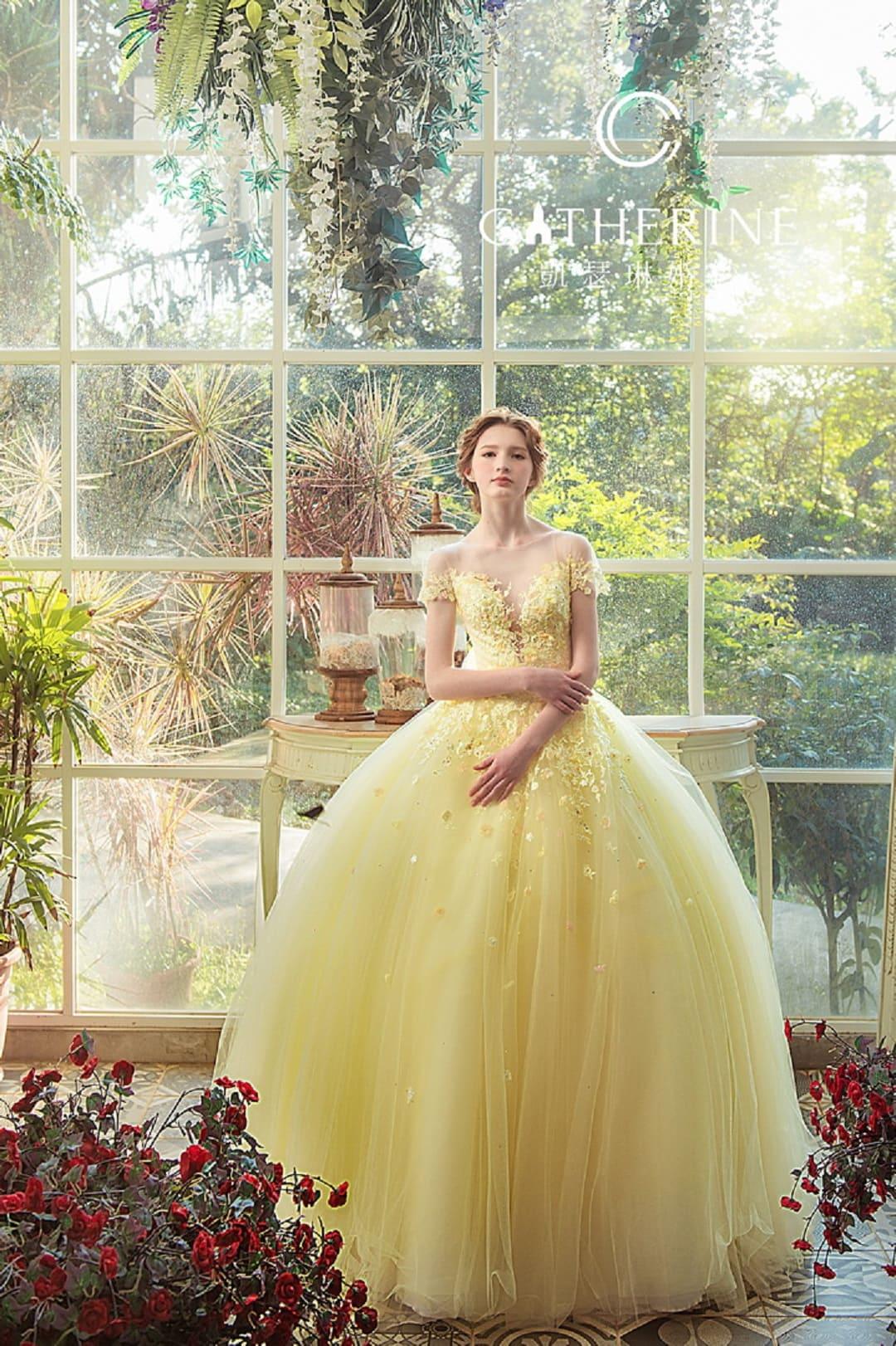 凱瑟琳 婚紗禮服 6