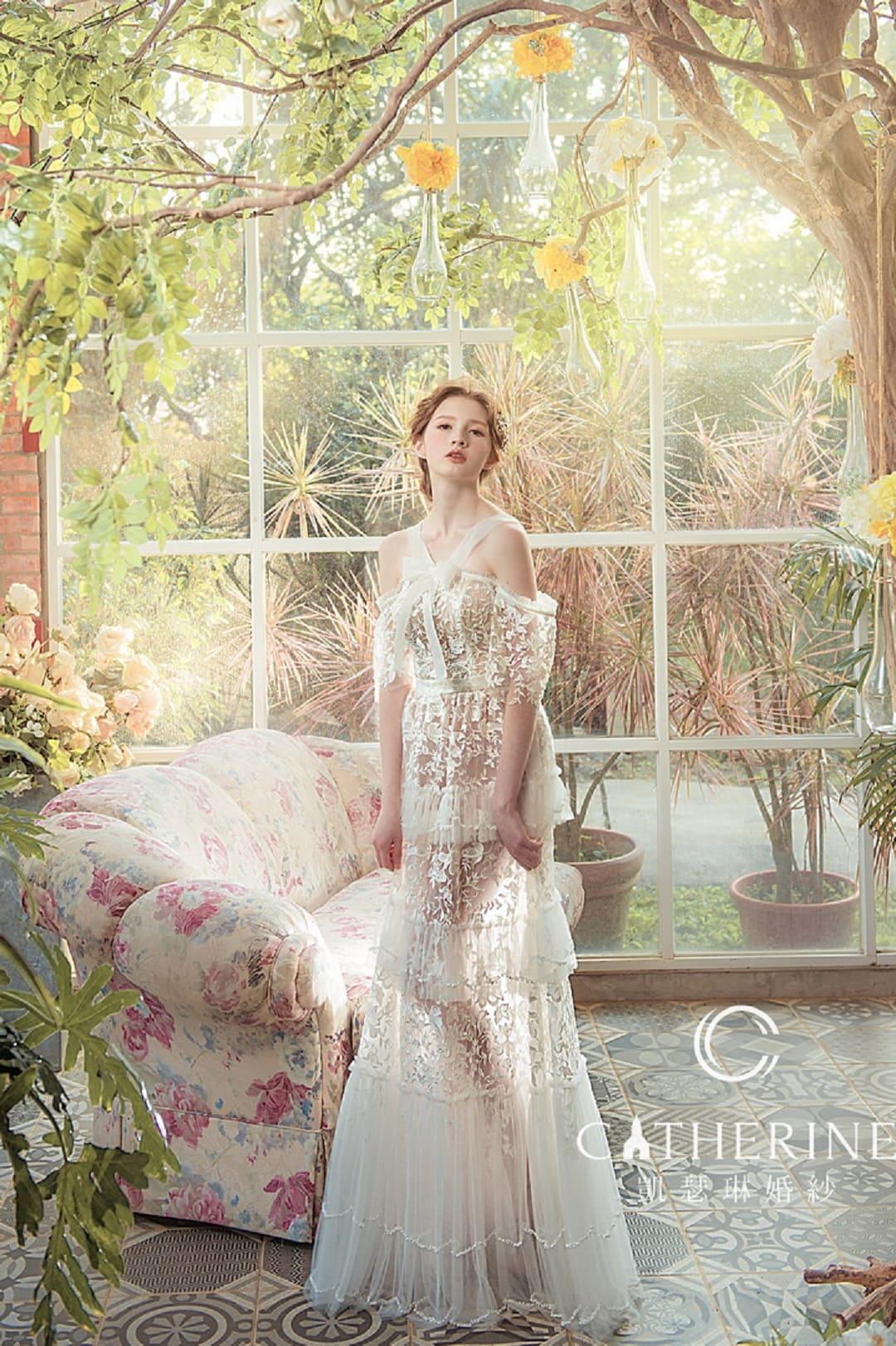 凱瑟琳 婚紗禮服 7