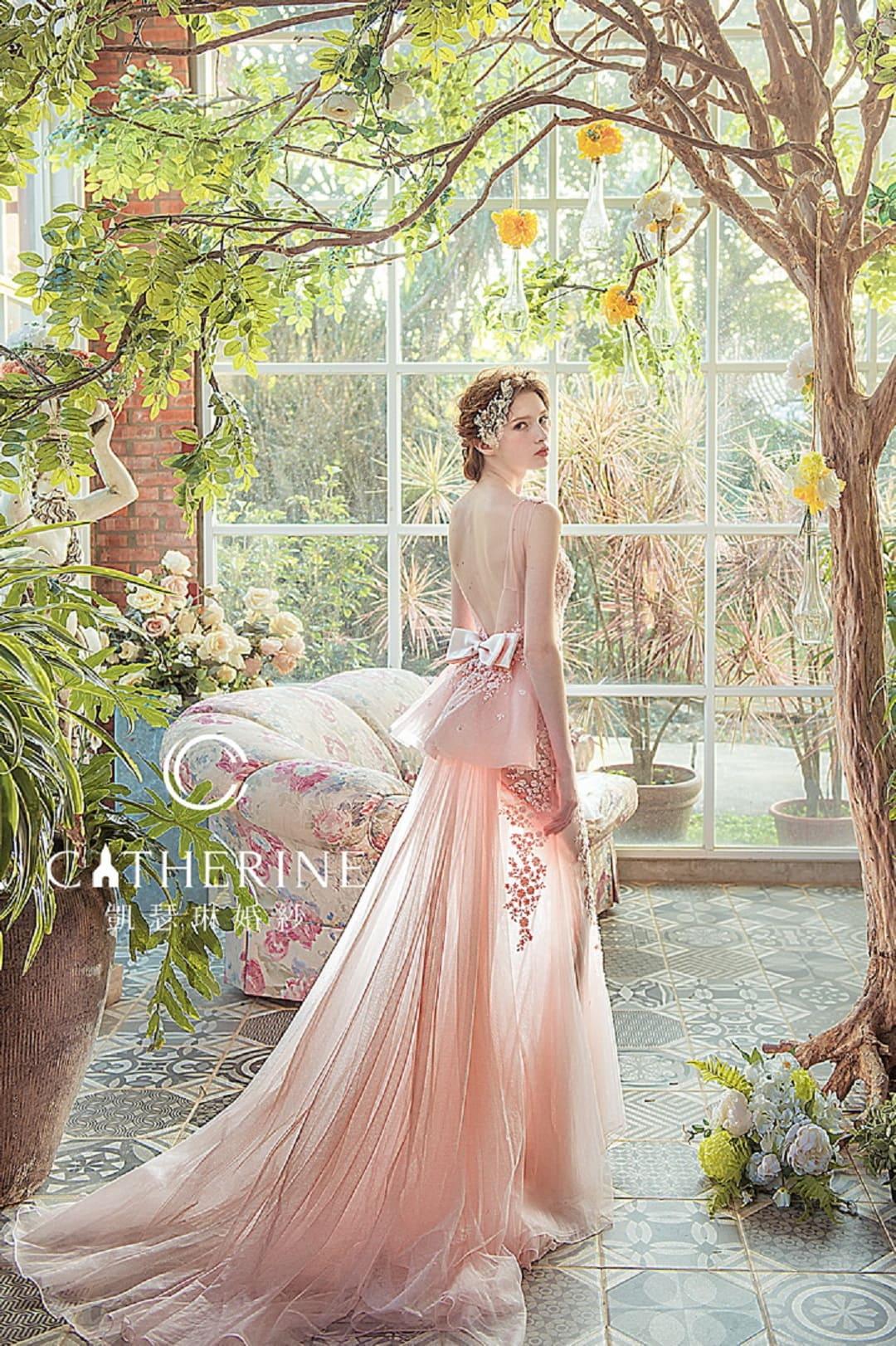 凱瑟琳 婚紗禮服 8