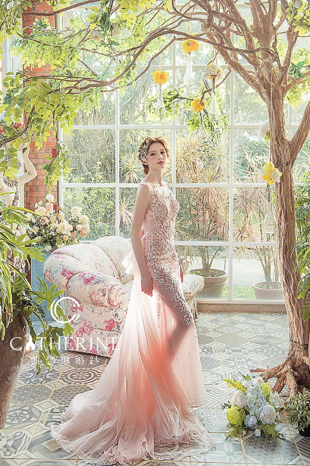 凱瑟琳 婚紗禮服 9