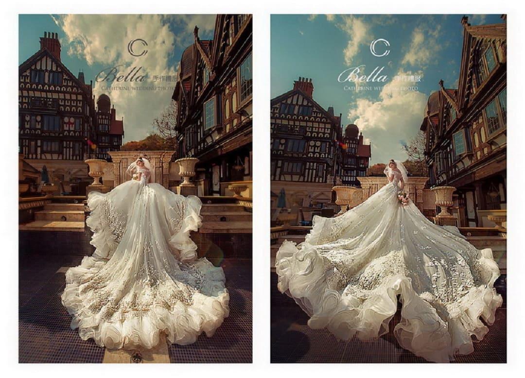 凱瑟琳 婚紗禮服12