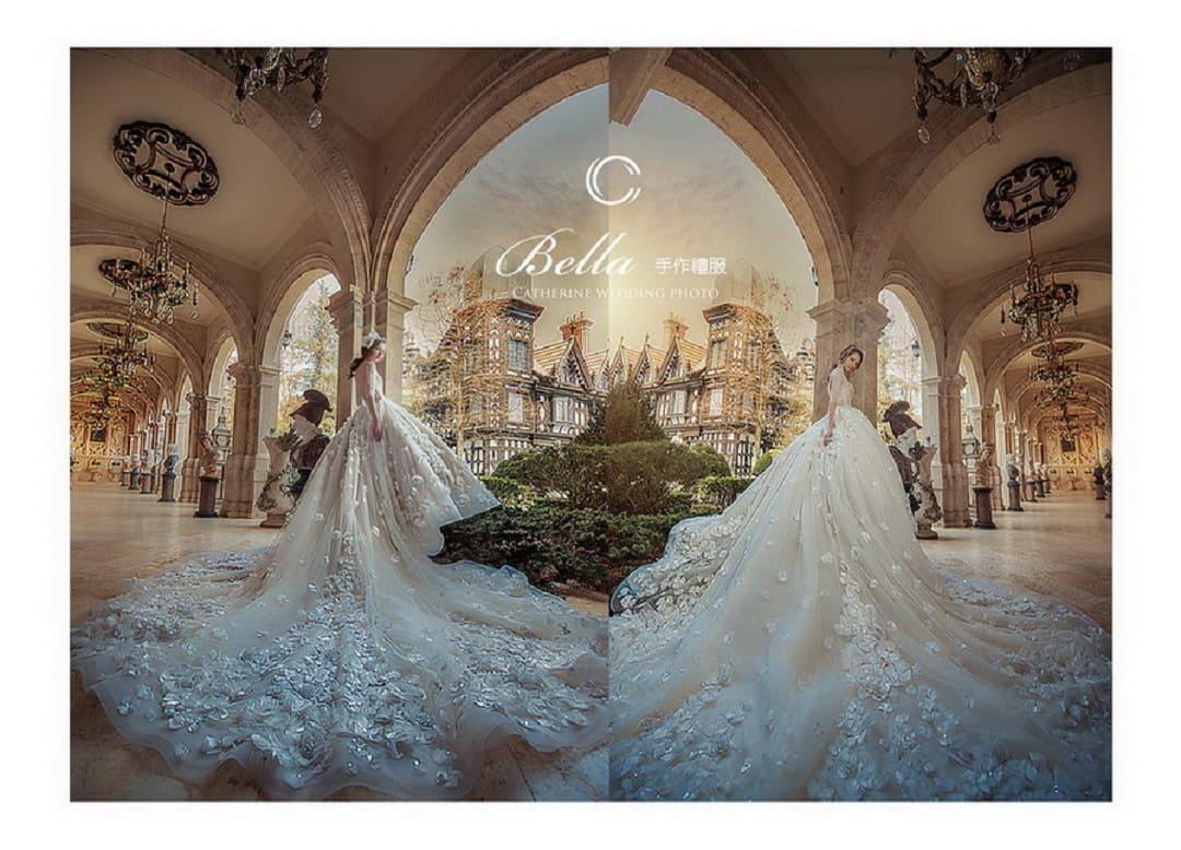 凱瑟琳 婚紗禮服14