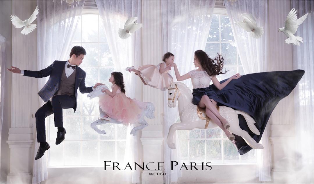 新竹法國巴黎婚紗 漂浮童話 婚紗照