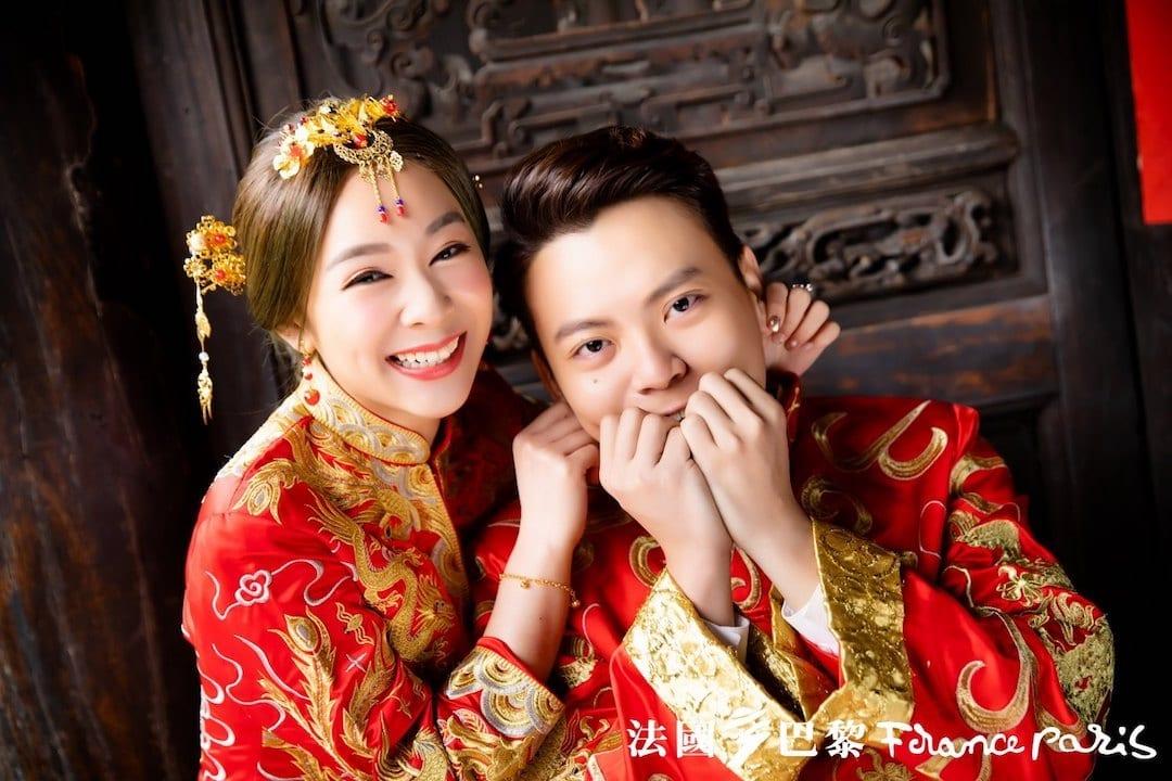 台北法國巴黎婚紗 婚紗照