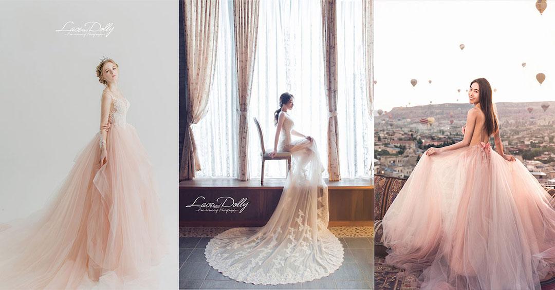 桃園蕾絲娃娃 婚紗禮服