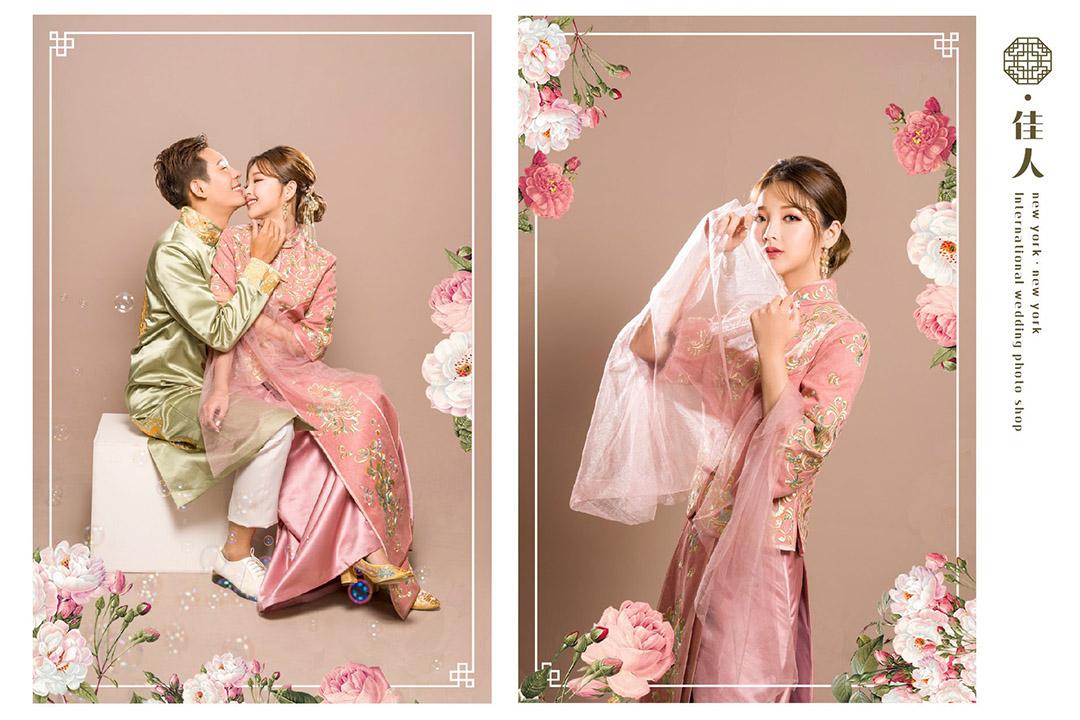 嘉義紐約紐約 中式婚紗照