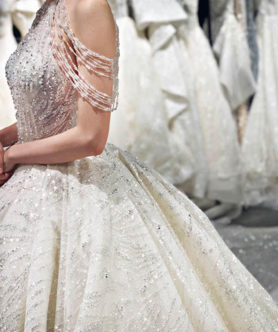 台北法國巴黎婚紗 秋冬新款 婚紗禮服 水晶婚紗 11