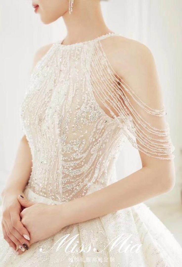 台北法國巴黎婚紗 秋冬新款 婚紗禮服 水晶婚紗 12