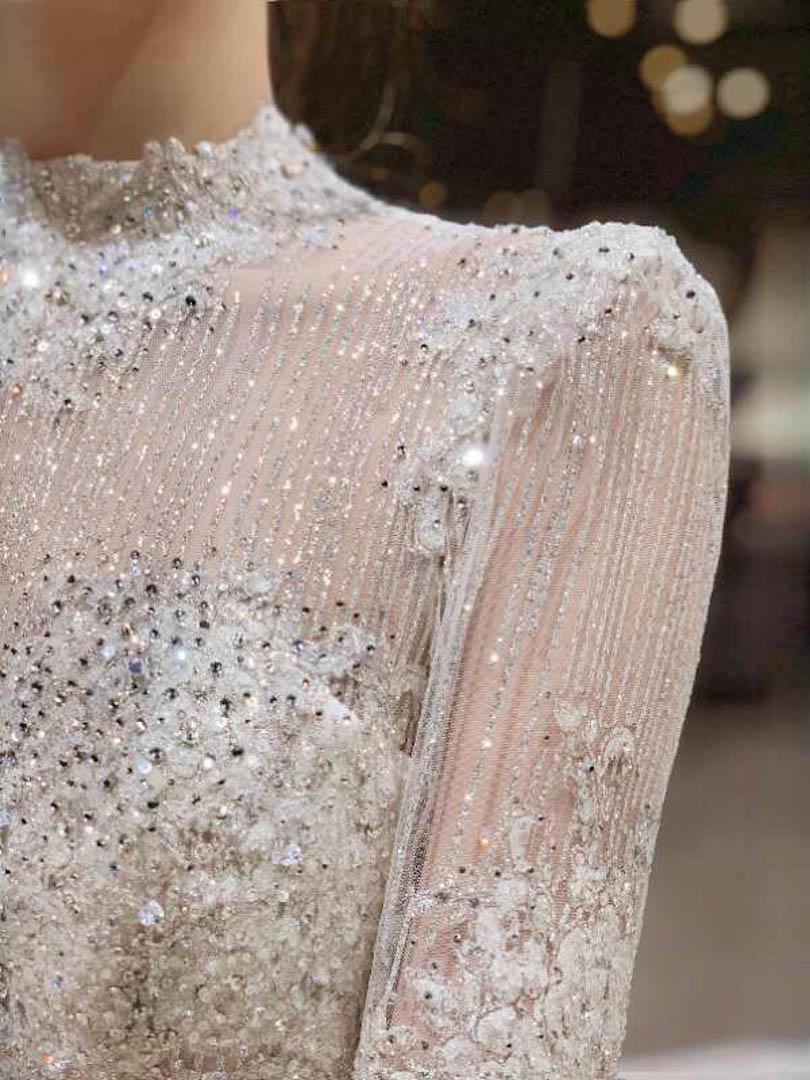 台北法國巴黎婚紗 秋冬新款 婚紗禮服 水晶婚紗 13