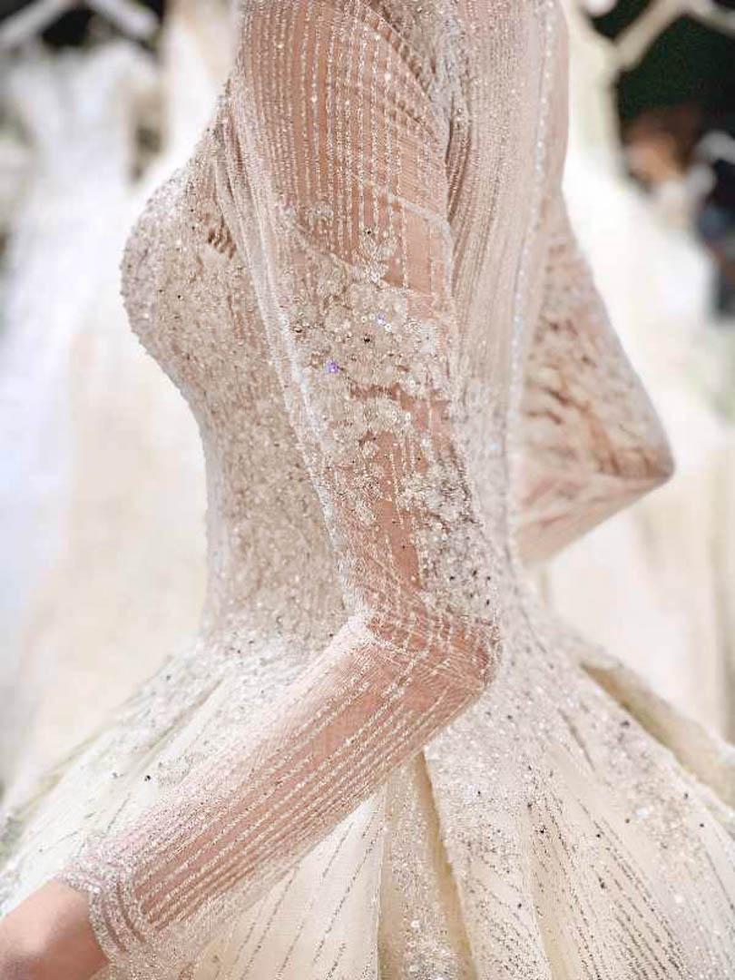 台北法國巴黎婚紗 秋冬新款 婚紗禮服 水晶婚紗 15
