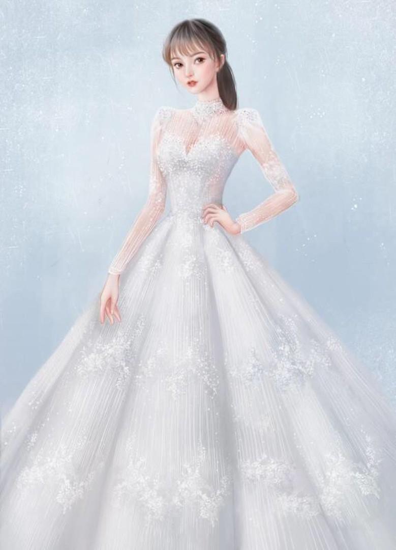 台北法國巴黎婚紗 秋冬新款 婚紗禮服 水晶婚紗 17