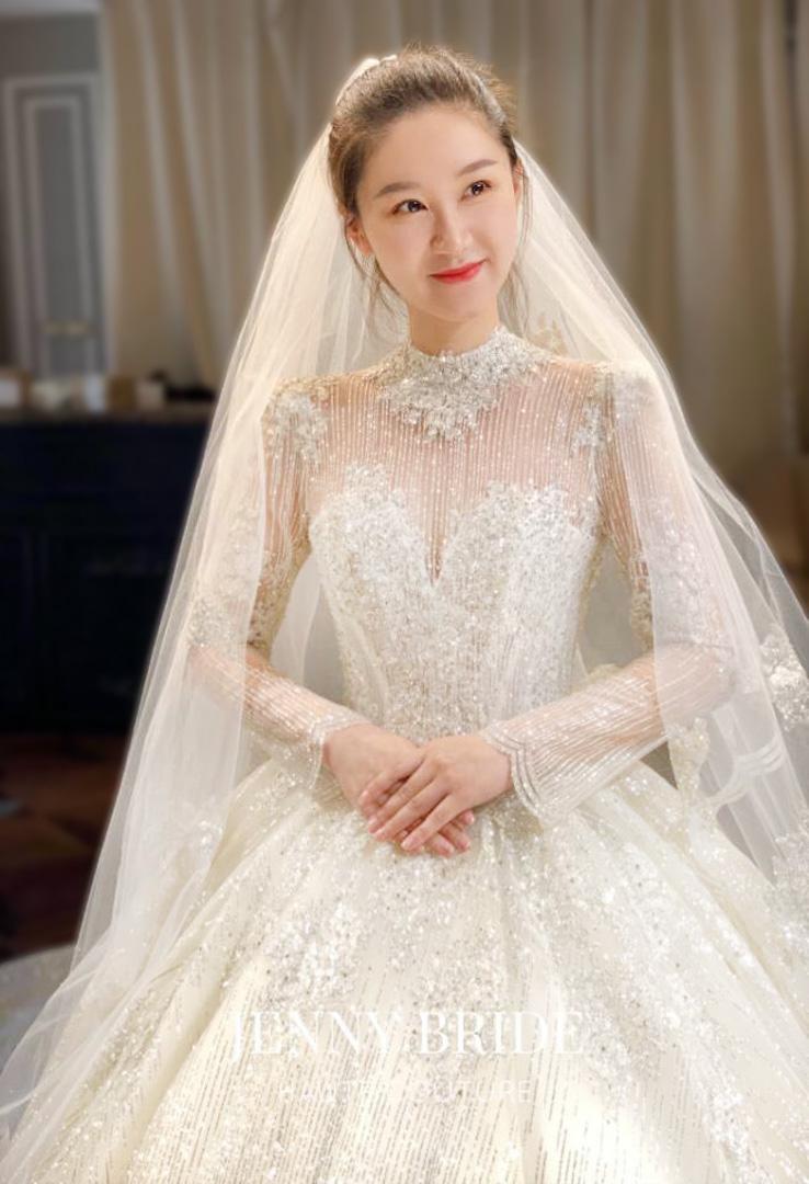 台北法國巴黎婚紗 秋冬新款 婚紗禮服 水晶婚紗 18