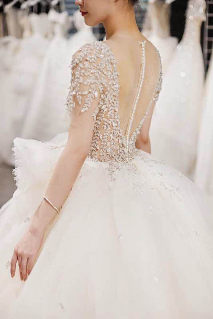 台北法國巴黎婚紗 秋冬新款 婚紗禮服 水晶婚紗 19