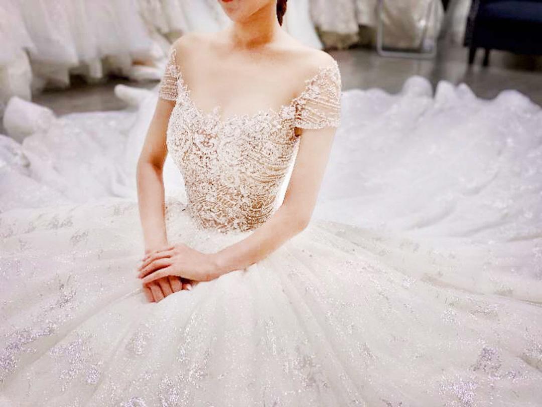 台北法國巴黎婚紗 秋冬新款 婚紗禮服 水晶婚紗 2