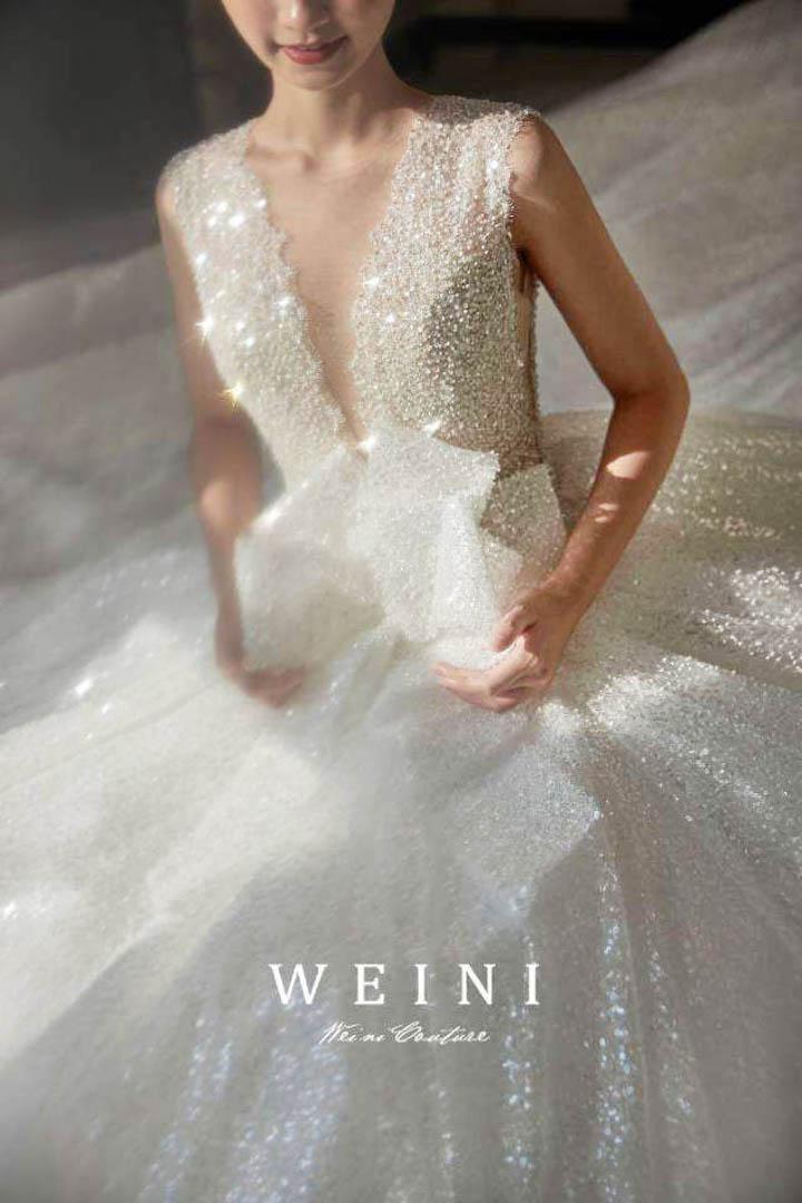台北法國巴黎婚紗 秋冬新款 婚紗禮服 水晶婚紗 7