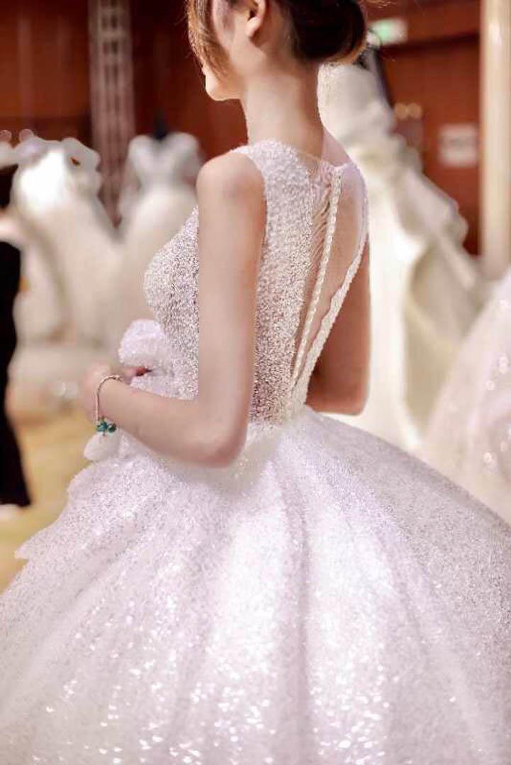 台北法國巴黎婚紗 秋冬新款 婚紗禮服 水晶婚紗 8