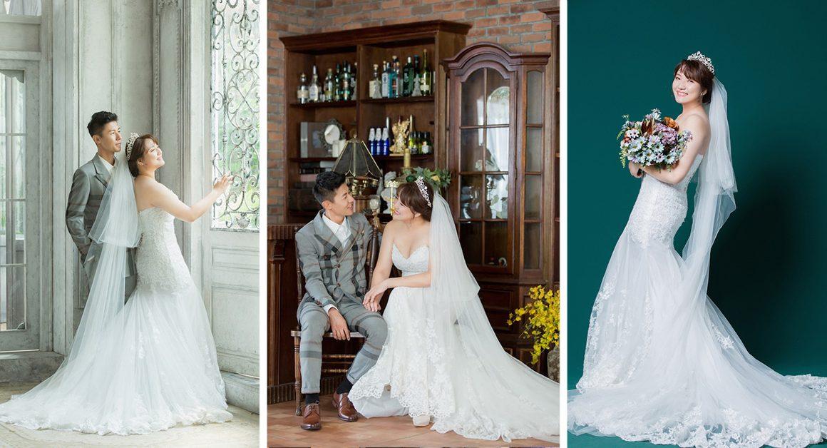 台南翡麗 婚紗禮服 中大尺碼