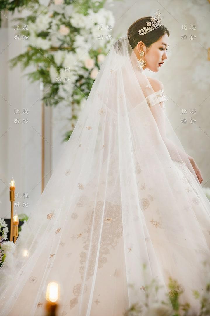 比堤婚紗 婚紗禮服 大氣婚禮必選款 11