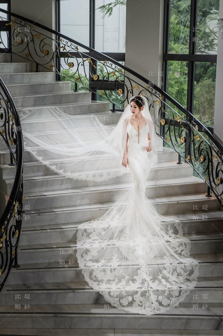 比堤婚紗 婚紗禮服 大氣婚禮必選款 13