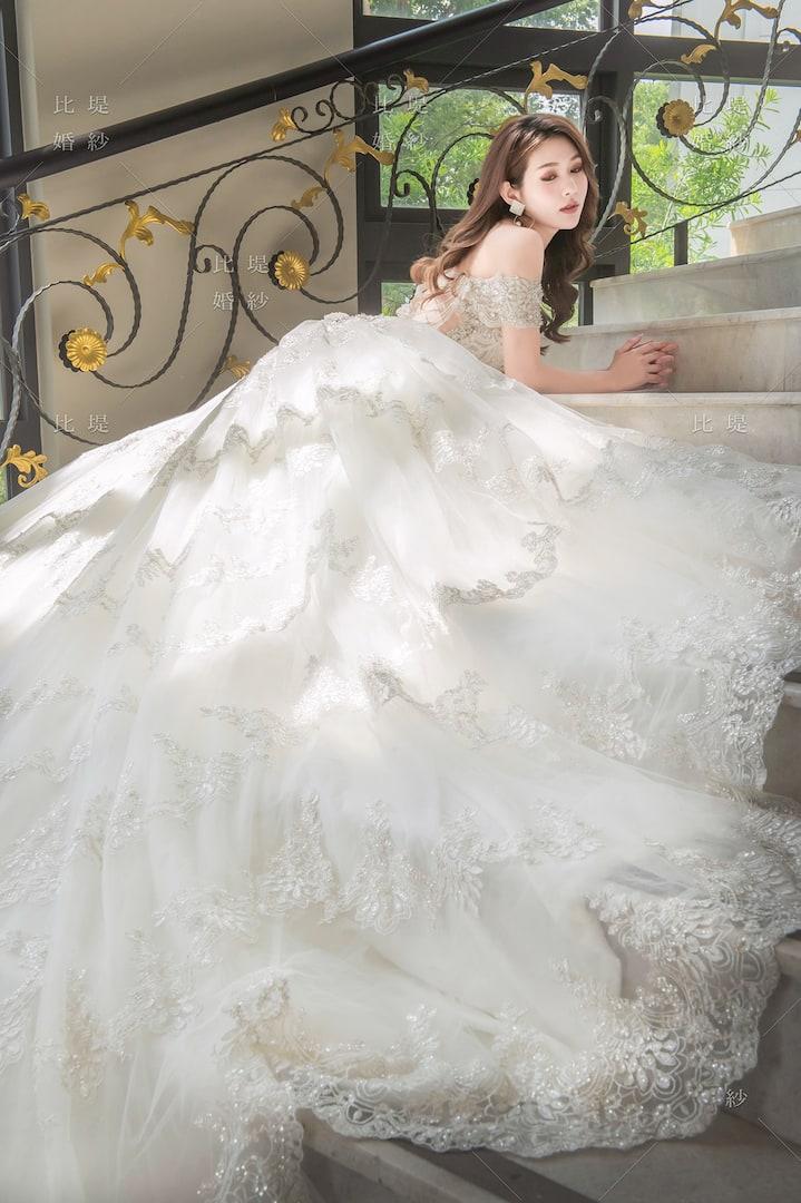 比堤婚紗 婚紗禮服 大氣婚禮必選款 15