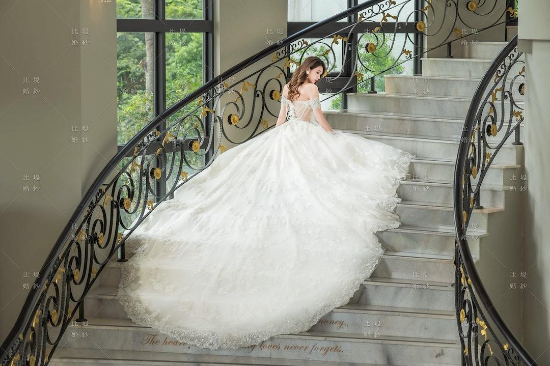 比堤婚紗 婚紗禮服 大氣婚禮必選款 18