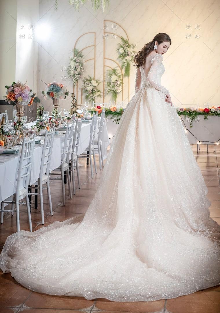 比堤婚紗 婚紗禮服 大氣婚禮必選款 19