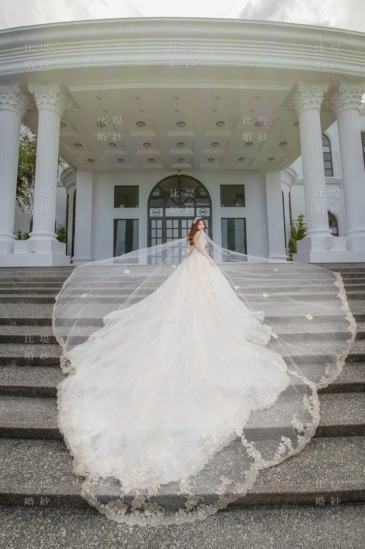 比堤婚紗 婚紗禮服 大氣婚禮必選款 2