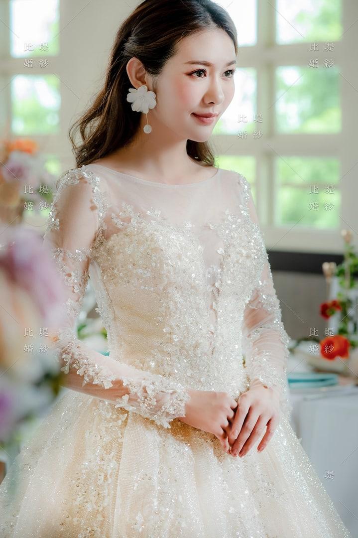 比堤婚紗 婚紗禮服 大氣婚禮必選款 21