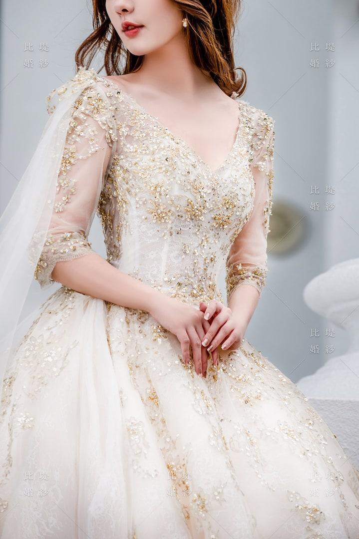 比堤婚紗 婚紗禮服 大氣婚禮必選款 4