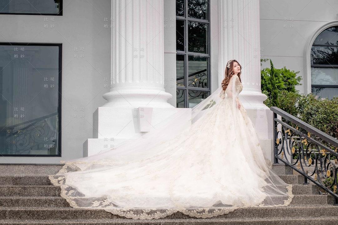 比堤婚紗 婚紗禮服 大氣婚禮必選款 5