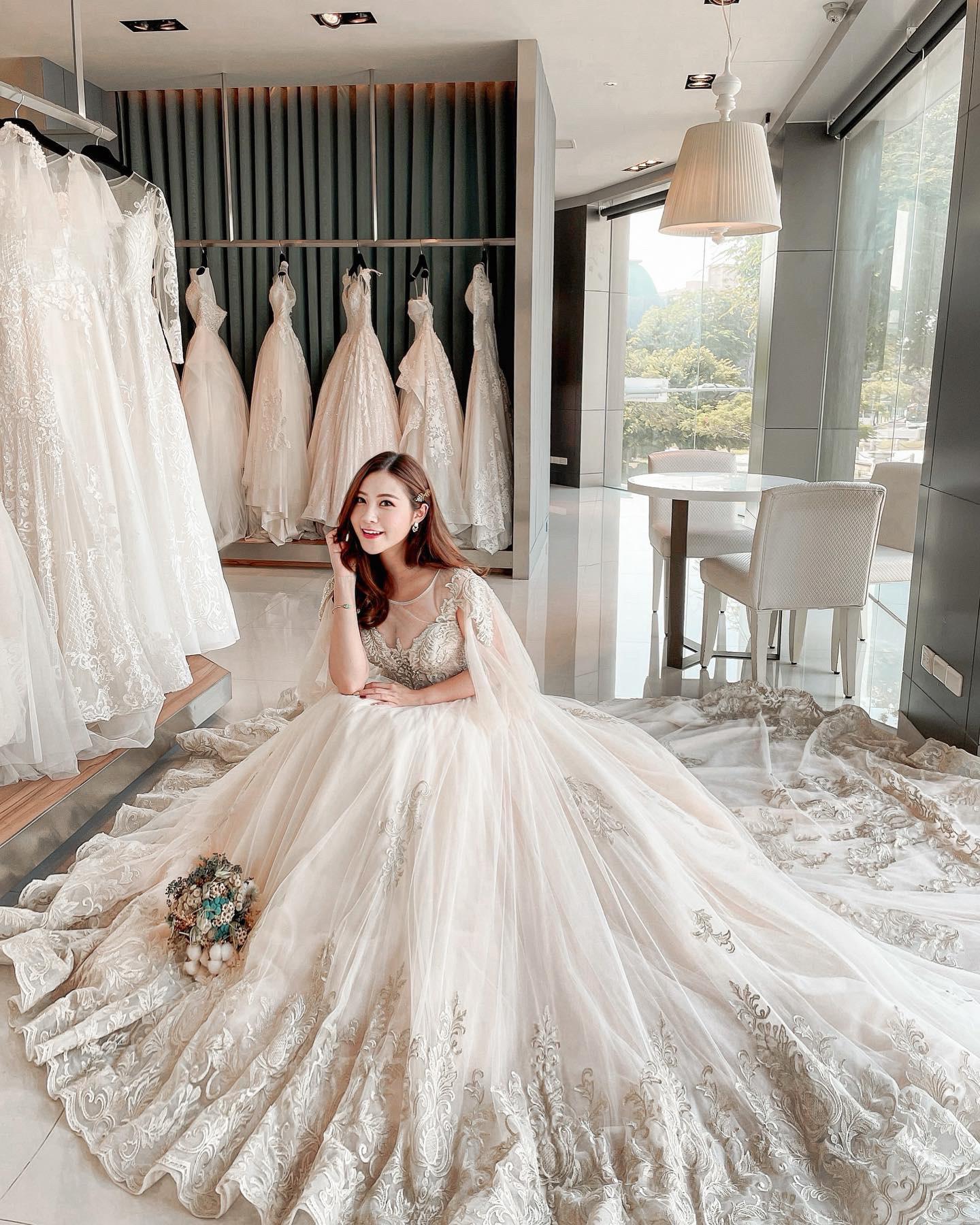 台南翡麗 婚紗禮服1