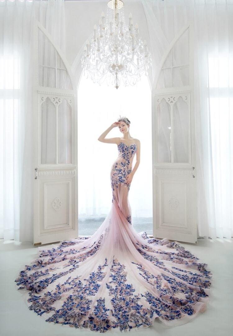 高雄法國台北 婚紗禮服 2