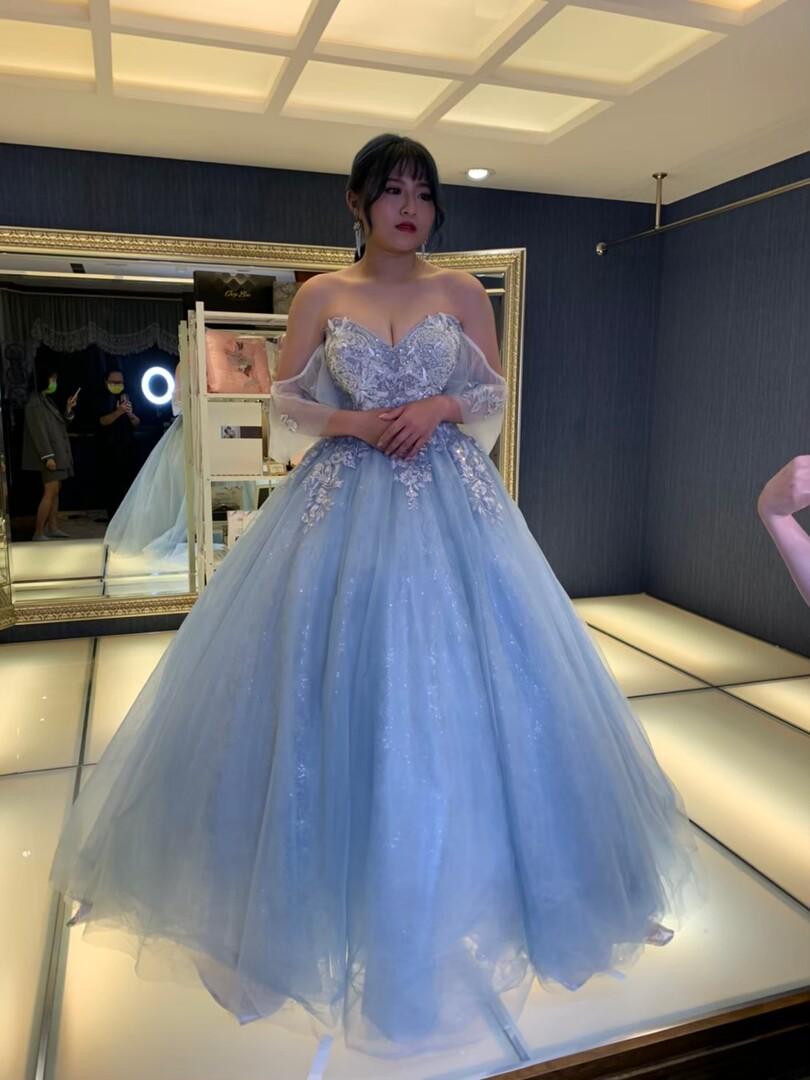 新竹法國巴黎 中大尺碼婚紗 1